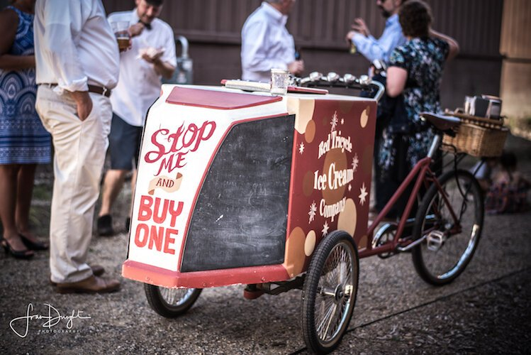 Ken Quayle, owner of  Red Tricycle Ice Cream, started his business in Madison, Wisc., and later revived it after moving to Kalamazoo's Vine.