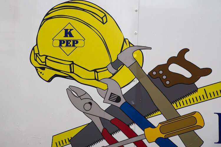 The mission of KPEP's building trades program is to give people who have been in corrections an opportunity to gain skills in a field in which they may want to work.