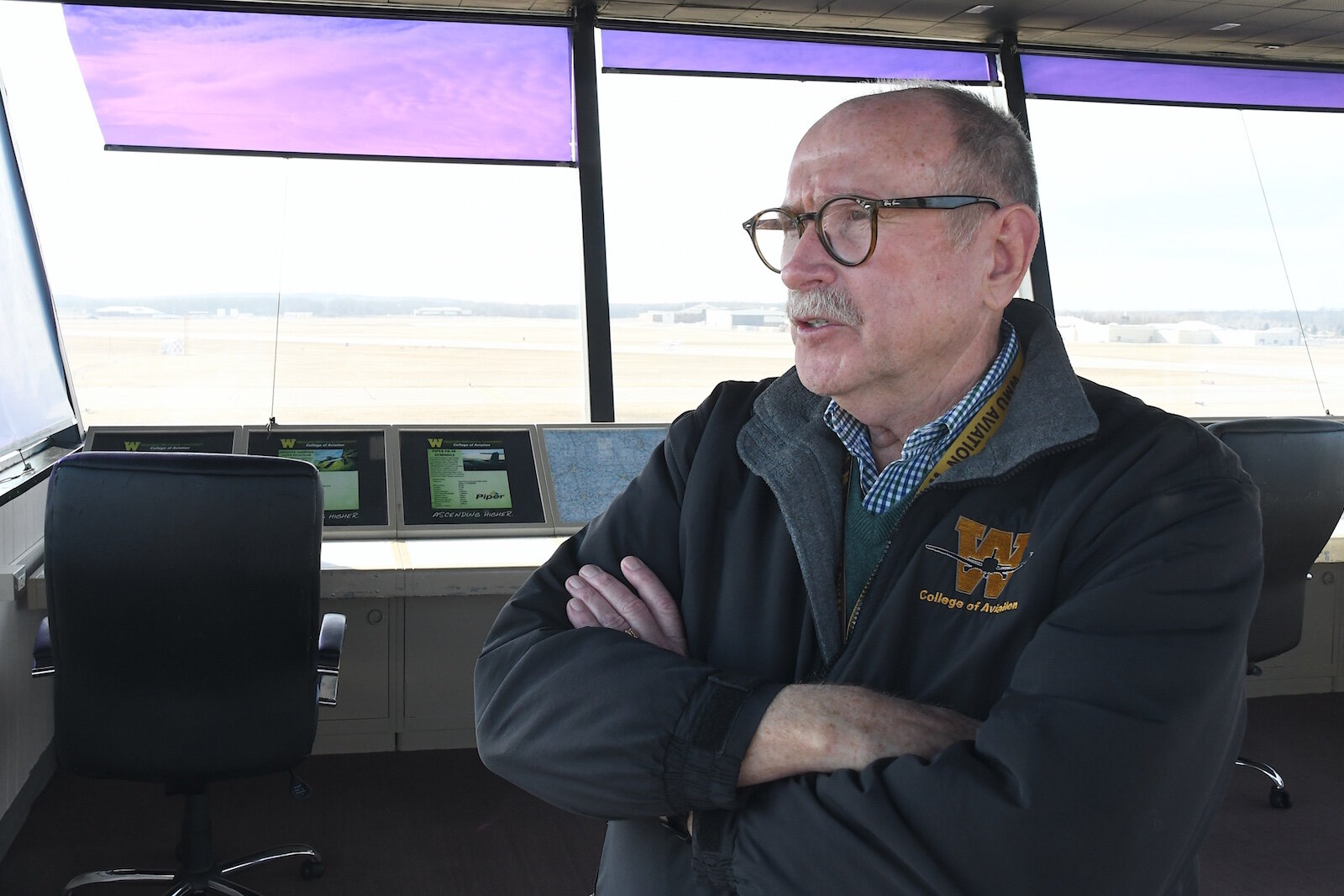 Dave Powell, dean of WMU's College of Aviation talks about the future of the school.