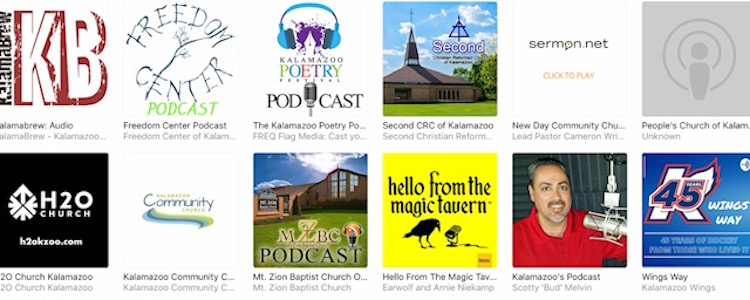 A collection of Southwest Michigan podcasts