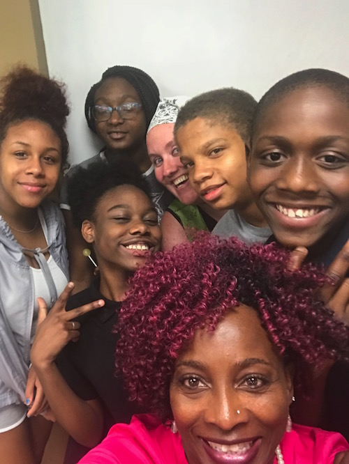 UrbanZone, a youth-centered afterschool and summer program, was conceived by Valarie Cunningham as a safe zone for urban youth.