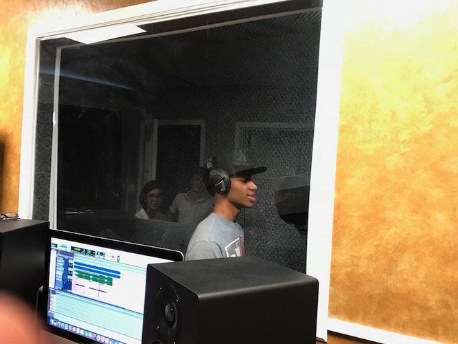 UrbanZone has its own recording studio for music and spoken word poetry. A six-week recording engineering class will be offered this summer.