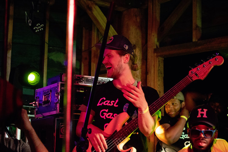 Joel Pixley-Fink is bassist for the Last Gasp Collective