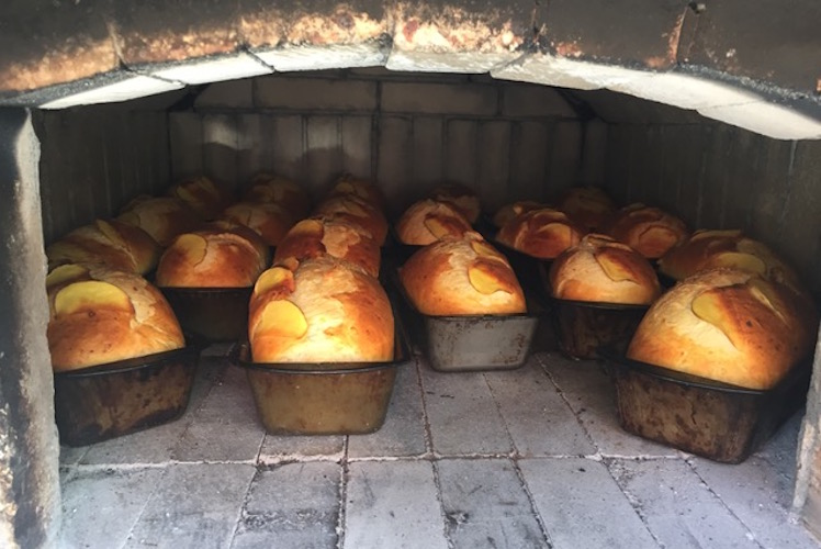 Bread in special oven bakes better when there is a lot of it.
