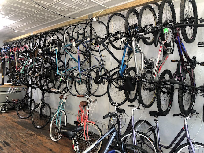 Kzoo Swift, which grew out of a hobby of fixing and flipping bikes, continues to grow its business, now selling several new brands of bicycles in addition to used and vintage.