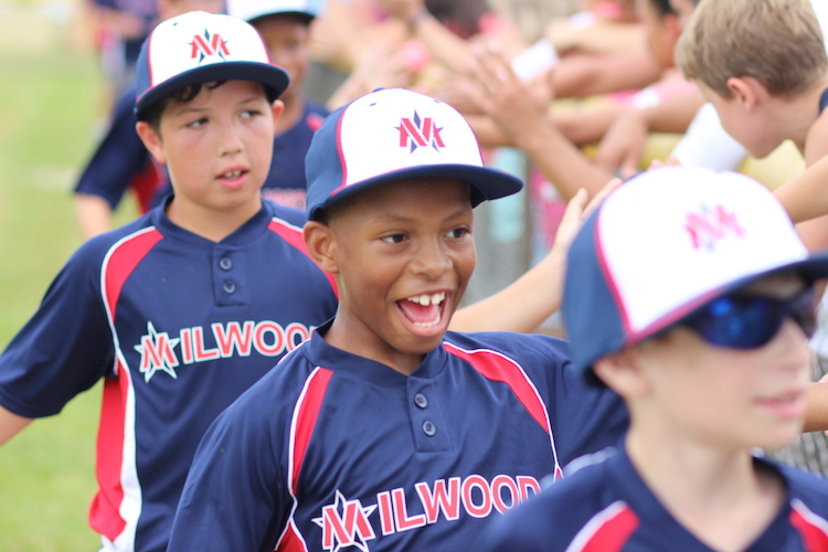 In Millwood Little League the goals are having fun and learning how to play the game.