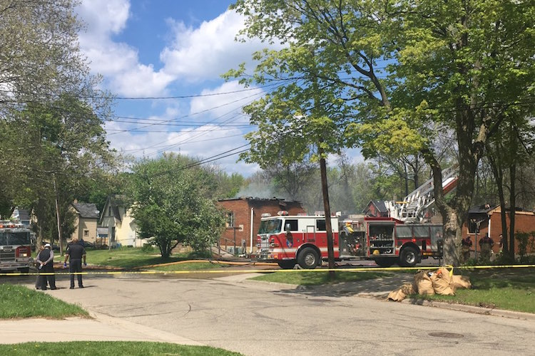 A fire on May 15 destroyed Open Door Church of God, 418 Phelps. A group of Kalamazoo pastors are currently joining together to raise funds for the church.