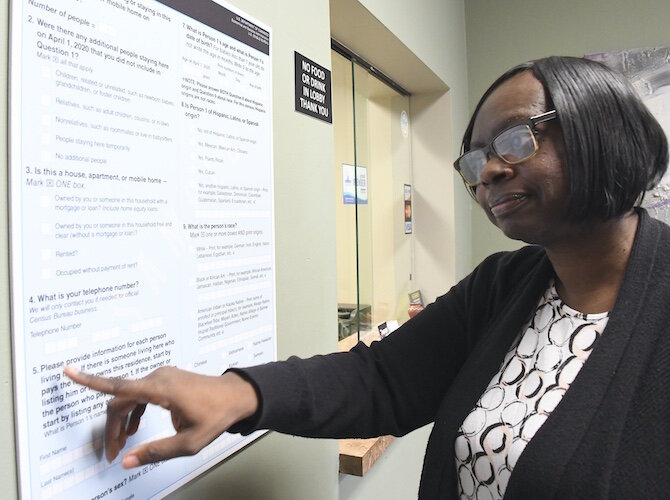 Kyra Wallace of Southwestern Michigan Urban League says residents throughout Michigan will be asked to go online to fill out a Census form that contains less than 10 questions.