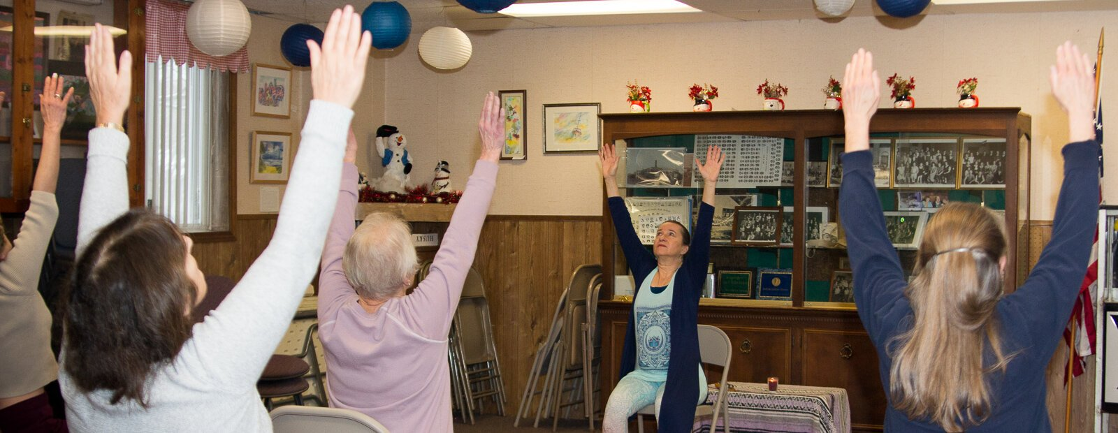 Yoga at the Oakwood Community Center