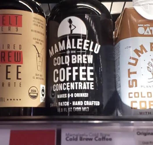 Mamaleelu Cold Brews concentrate is sold at six retail stores in Kalamazoo as well as stores in Grand Rapids, Lansing, and Plainwell.