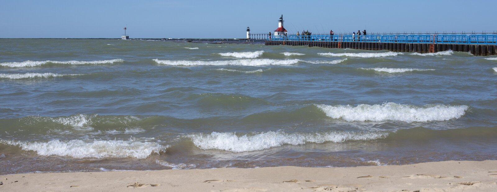 Lake Michigan Are Eroding Locals