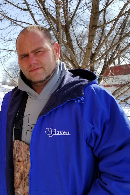 Daniel Jones, Executive Director for the Haven of Rest Ministries in Battle Creek.