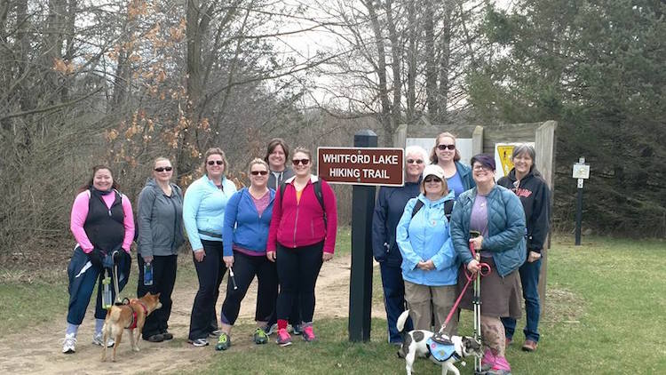 The Michigan Trail Dames are ready for the great outdoors.