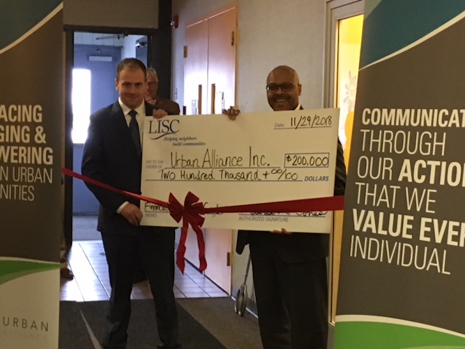 Local Initiatives Support Corporation of Kalamazoo is helping to fund a new Financial Opportunity Collaborative partnership with Urban Alliance and Kalamazoo Neighborhood Housing Services.
