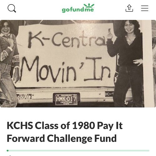 Kalamazoo Central High School graduating class of 1980 is trying to establish their legacy by expanding opportunities for future KC graduates.