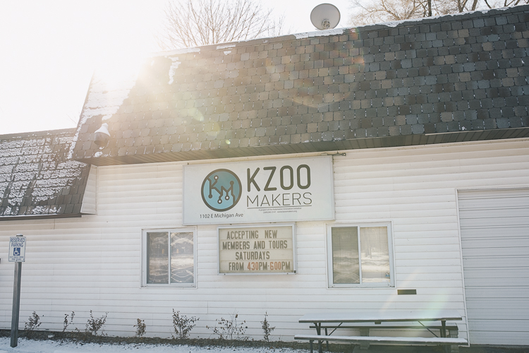 Kzoo Makers, 1102 E. Michigan, the area's first makerspace, is located on the Eastside.