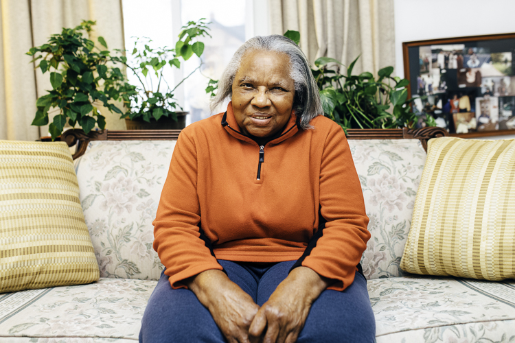 Magnolia Bodley, a longtime volunteer, has lived in her Eastside home almost 50 years.