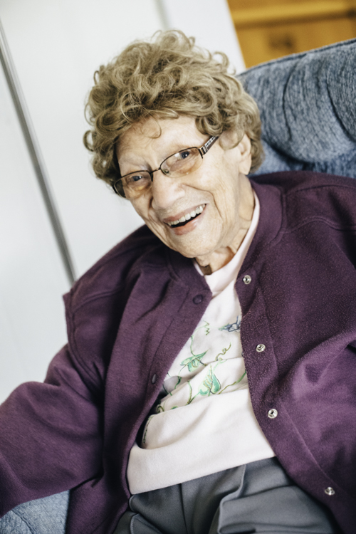 Gwen Tulk, 101, still has a keen mind and a delightful sense of humor.