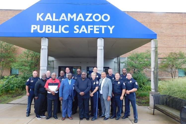 The Kalamazoo Department of Public Safety's Pastors on Patrol program has six pastors who join police officers in cruisers.