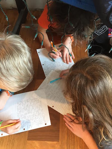 Youngsters enjoy their writing with Read and Write Kalamazoo