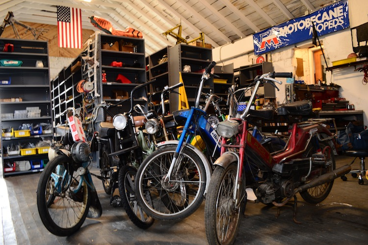 1977 Moped's shop