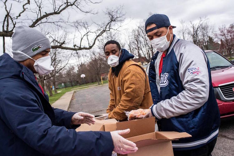 An informal outreach birthed the food distribution program that has twice received funding from the United Way of the Battle Creek Kalamazoo Region's Disaster Relief Fund.