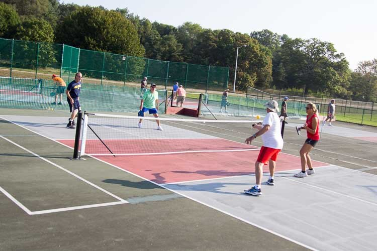 Pickleball has been played in Battle Creek for about 10 years.