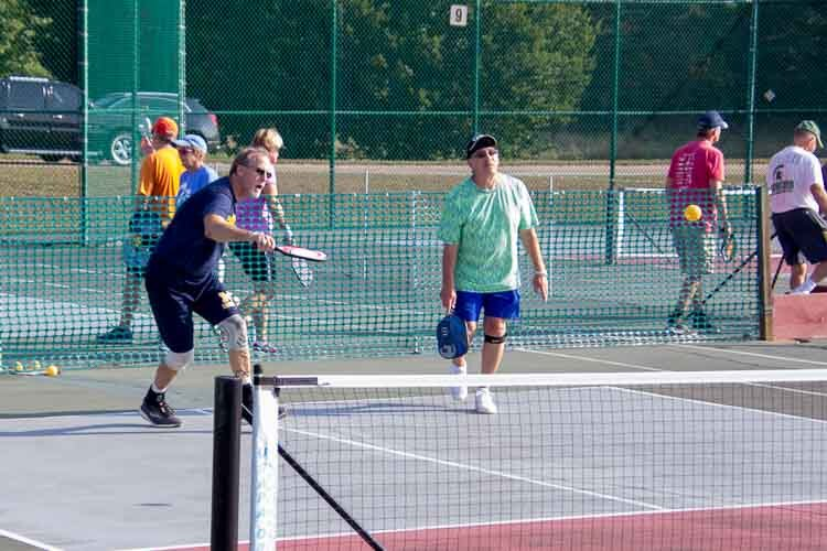 Strategy is all part of Pickleball.