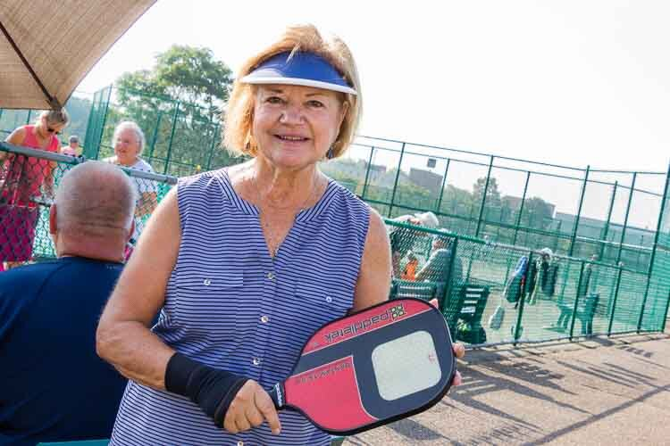 a member of the Battle Creek Pickleball Club.