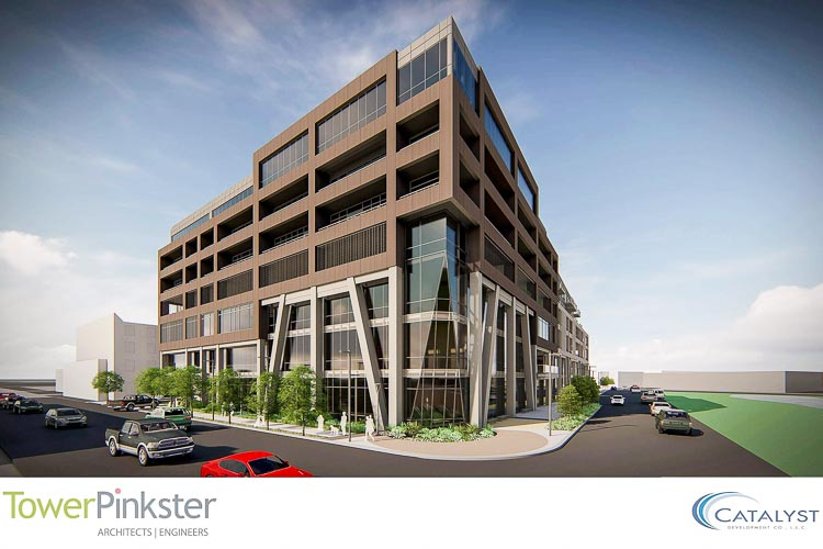A $70 million, seven-story mixed-use building will be going up in the heart of downtown Kalamazoo.