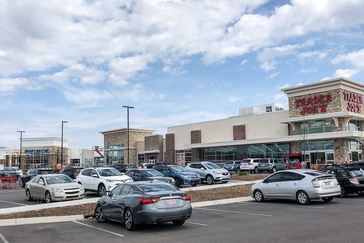 Tthe Corner @ Drake retail center being developed by AVB.