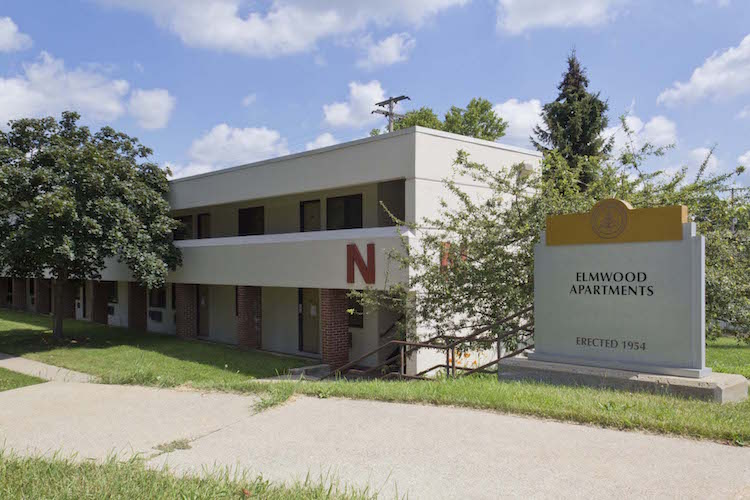 Elmwood Apartments are going to be replaced with new student housing
