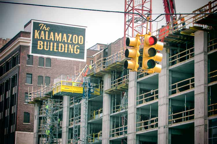 Work underway at the Exchange Building