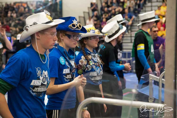 RoboRangers of Cassopolis in competition Photo by Daniel Jonathan Ernst copyright 2017