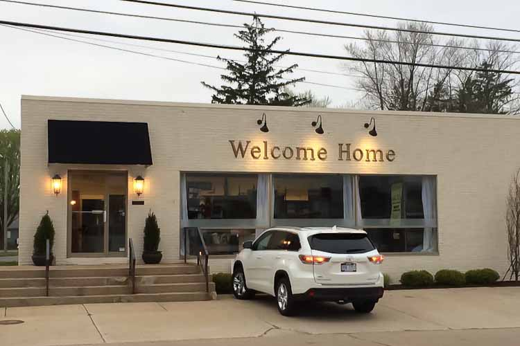 Welcome Home: Interior Designer Transforms Auto Parts Store Into Showroom,  Studio Space