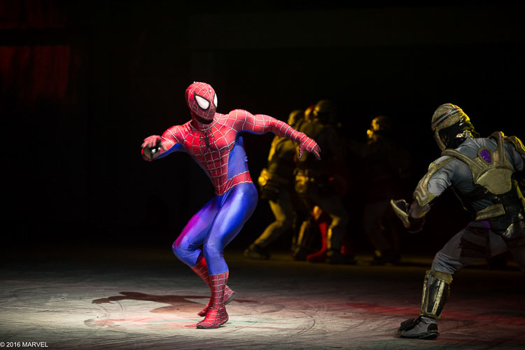 Super hero fan Kelly Dunchenskie and her traveling companions were led on a superhero vacation that landed at Marvel House Universe Live in Indianapolis.