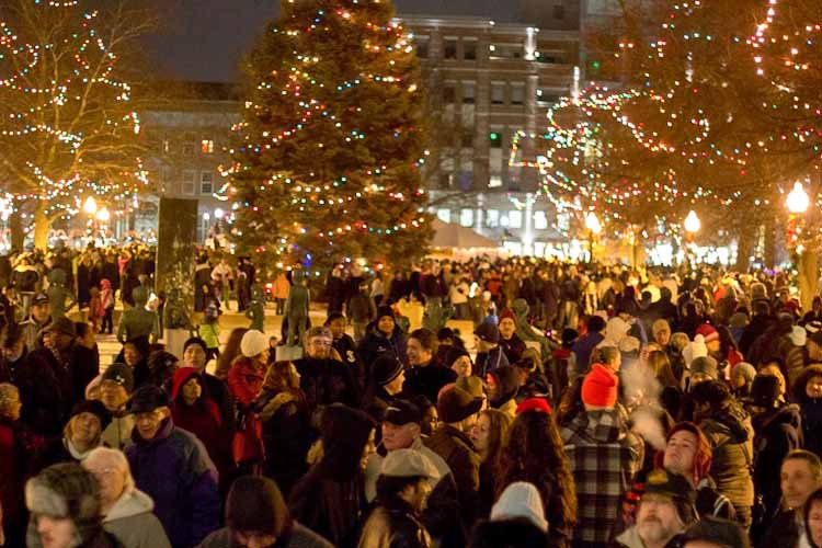 Why was Kalamazoo's New Year's Fest included in the attorney general's report on fundraising?