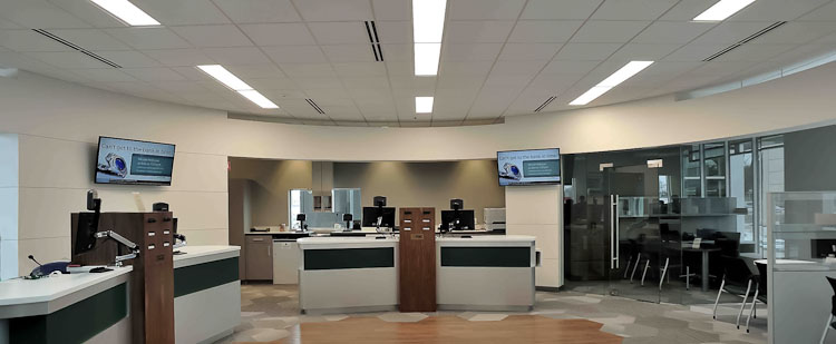 Inside the new Southern Michigan Bank and Trust