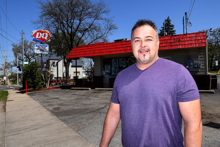 Michael Vincent is the owner of the Dairy Queen in Battle Creek, located at the intersection of Main and Cliff streets.