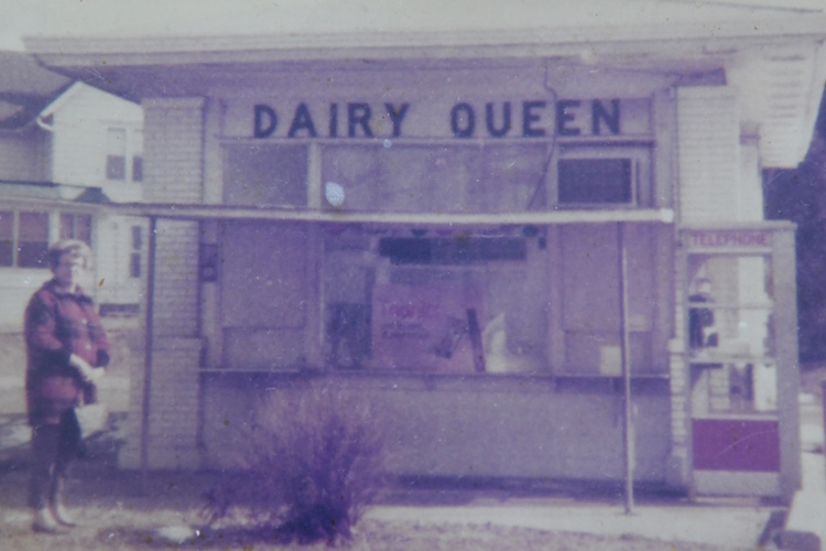 Maxine Champlin was the original owner of this Dairy Queen.