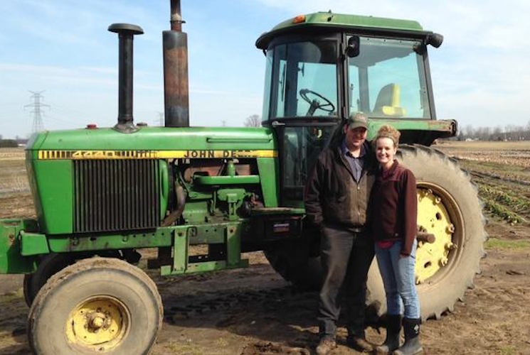 Lindsey and Mitch Visser of Crisp Country Acres work with Sprout BC