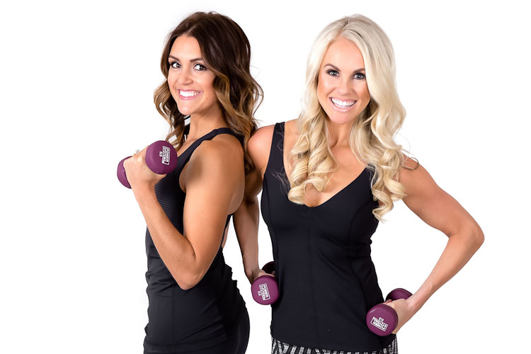 Nicole Rzeznik and  Kelli Rapaski of Lean Body Studio