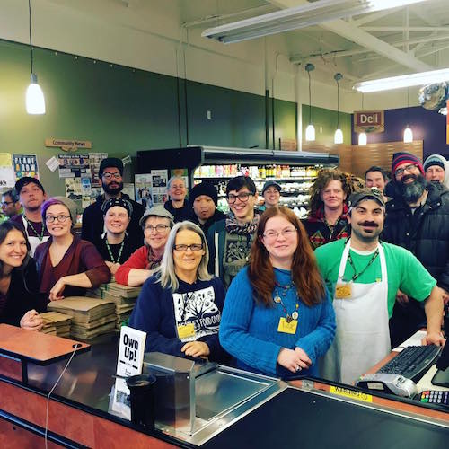 The staff at PFC Natural Grocery & Deli