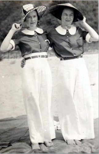 Blanche and Bernice Squier circa 1930