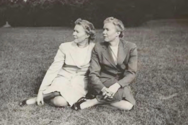 Blanche and Bernice Squier circa 1940s.