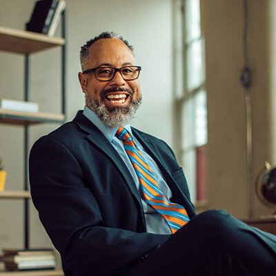"Von Washington Jr. says: ""For Kalamazoo to truly be an education community… we are responsible for reducing barriers that have long stifled the educational outcomes of marginalized communities."""