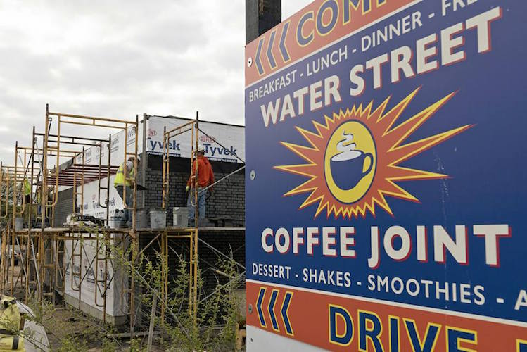 A sign of things to come for Water Street Coffee Joint