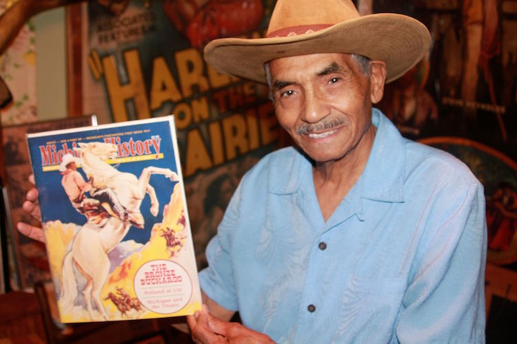 Murphy Darden loved learning about black cowboys and Herbert Jeffries was his favorite.