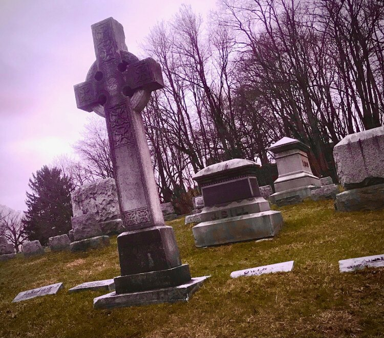 Near the southeast corner of the West Douglas Neighborhood, Mountain Home Cemetery is a huge burial place that is the final resting place for members of some of Kalamazoo earliest and most prominent families.