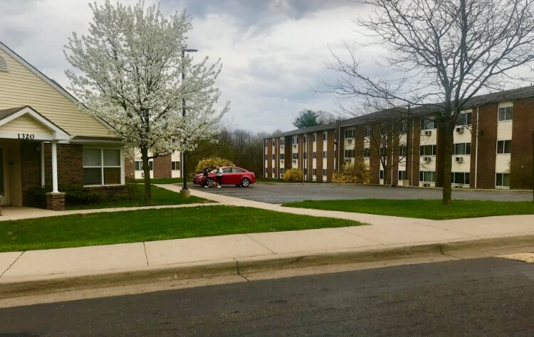 Among the major housing developments in the West Douglas Neighborhood are Fox Ridge Apartments, a complex with 216 units off Alamo Avenue, (shown here) and the 33-unit Summit Park Apartments off Douglas Avenue at 1117 Summit Ave.